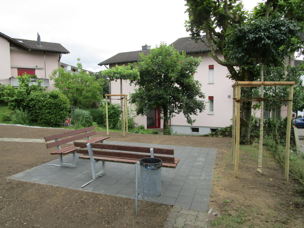 Gartensitzplatz
