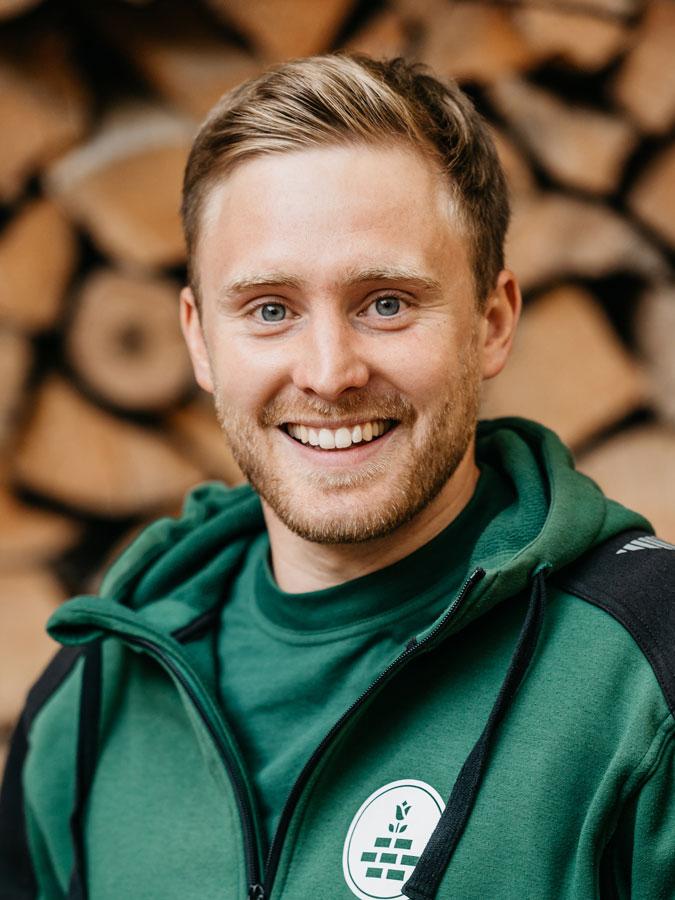 Lars Lötscher, Gartenbauer EFZ