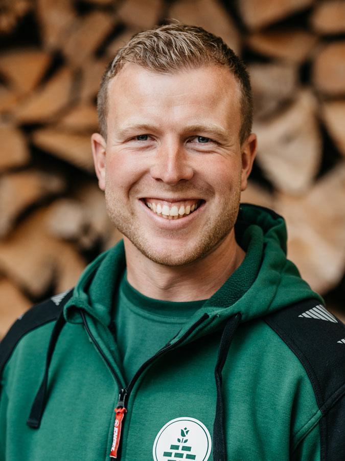 Patrick Muff, Obergärtner / Gartenbauer EFZ