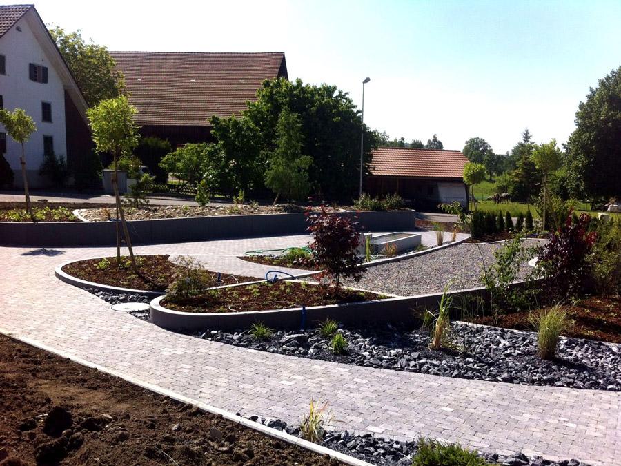 Gestaltung einer Parkanlage