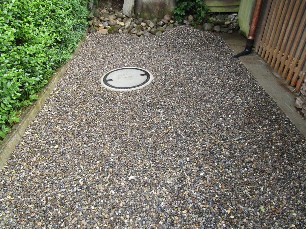 Wassertank fertig betoniert